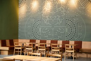 starbucks downtown sioux falls back wall